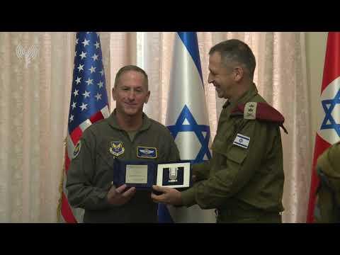 U.S. Air Force Commander Visits Israel