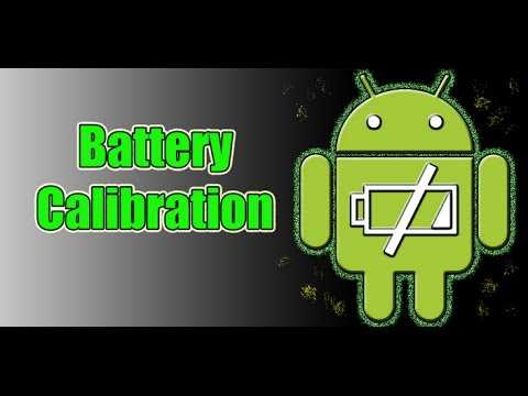 How To Calibrate Android Battery // All Versions // 2015//  ROOT //