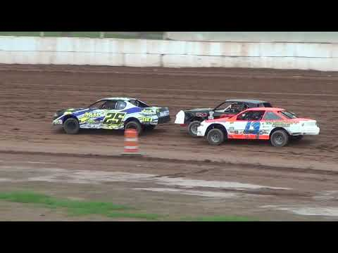 IMCA Stock Cars Heat #2 6/3/2018 @Outagamie Speedway Powered by EWSC