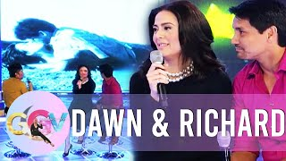 Dawn and Richard reacts to one of their kissing scenes | Gandang Gabi Vice