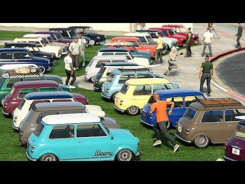 INSANE ISSI CLASSIC CAR MEET & CRUISE - GTA 5 Online