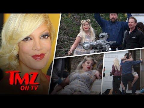 Tori Spelling Eats Dean McDermott's Face!  TMZ TV