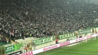 Bursaspor Akhisar 3. Gol stancu Tribün çekimi
