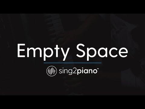 Empty Space (Piano Karaoke Instrumental) James Arthur
