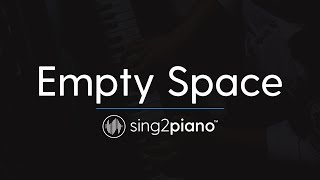 Empty Space (Piano Karaoke Instrumental) James Arthur Video