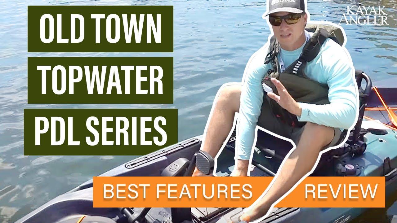 Old Town Topwater Series PDL Kayak | ICAST 2018