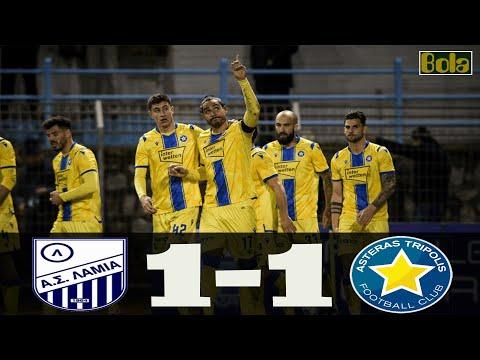 Asteras Tripolis Lamia Goals And Highlights