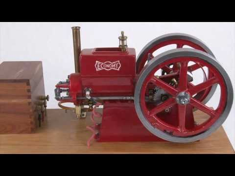 Economy Hit Miss Model Engine - Working Gas Powered Engine
