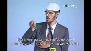 Dr zakir Naik Allahın varlığının ıspatı matematiksel hesaplamalarla.!