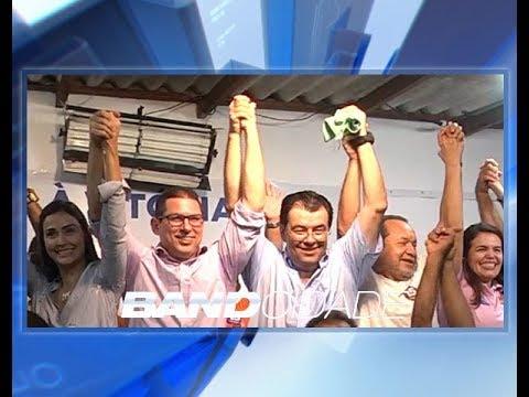Após resultado, Eduardo Braga diz que vai buscar apoio na capital