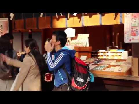 A walk around Meiji Jingu in Harajuku