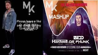 Hardwell Vs. Zedd - Stay The Night X Feeding Our Hunger (Marv!n K!m & DJ Alexander Mashup)