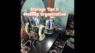 Storage Tips and Makeup Organization Thumbnail