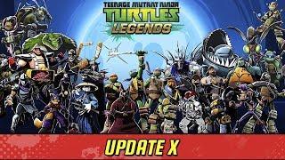 Черепашки-Ниндзя: Легенды - ОБНОВЛЕНИЕ X НОВЫЕ ГЕРОИ (TMNT Legends UPDATE X)