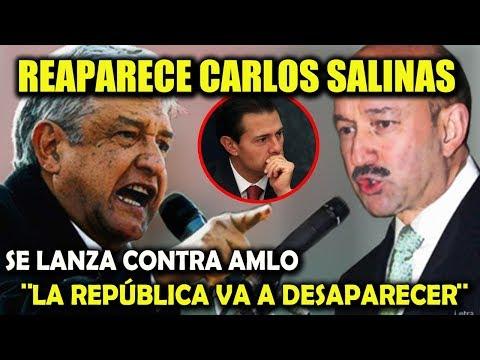 REAPARECE CARLOS SALINAS ¡Y ADVIERTE SOBRE AMLO! - CAMPECHANEANDO