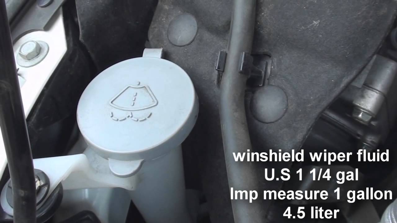 maxresdefault where is the windshield wiper fluid nissan altima 2013 2014 youtube  at fashall.co