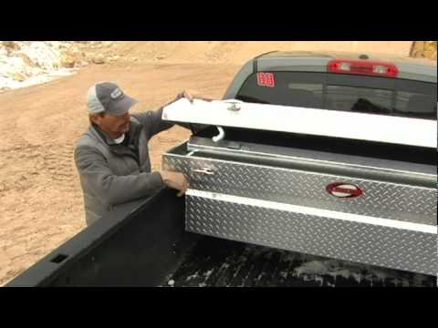 Truck Tool Box Lock Replacement >> How to Use Your Alumiknox Truck Toolbox - YouTube