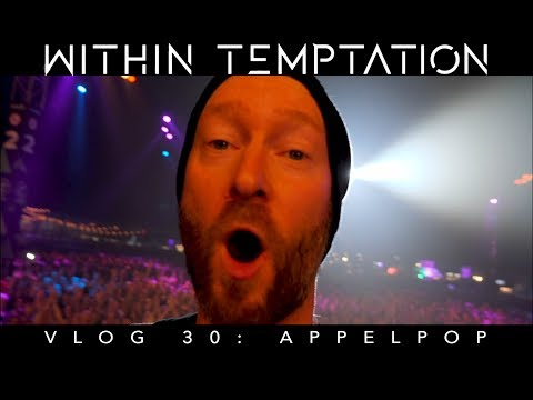 Within Temptation - Vlog 30: Appelpop (I Slipped And Fell In Front Of 20.000 People)