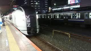 2020/10/22 E259系 特急成田エクスプレス47号 錦糸町駅通過