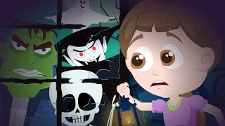 hello it's Halloween | scary nursery rhymes for kids | childrens song