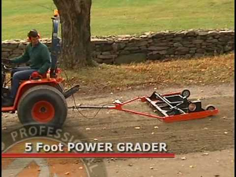 how to build a 3 point hitch grader