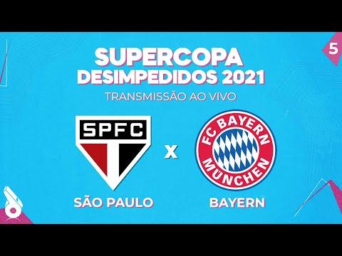 SUPERCOPA 2021 AO VIVO: SÃO PAULO X BAYERN DE MUNIQUE