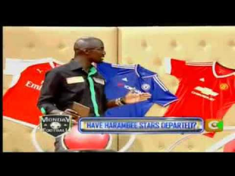 Bandari FC on Monday football show (Citizen TV)