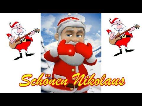 Merry Christmas Frohe Weihnachten 🤶 Alle Jahre 🤶 🤶 NIKOLAUS Knecht Ruprecht 🍾 ein frohes Neues Jahr