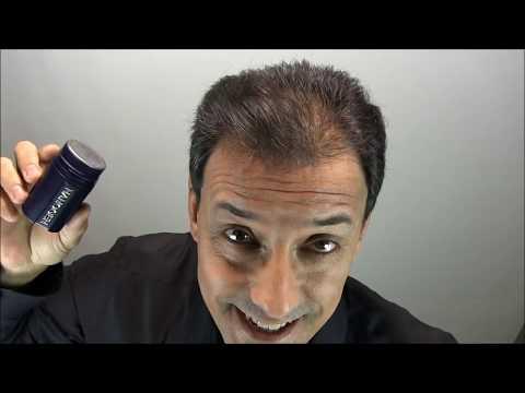 Fibras capilares de keratina natural Nanogen: Disimular Alopecia en 40 segundos