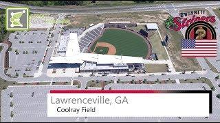 Gambar cover Coolray Field (Lawrenceville) ● Gwinnett Stripers & Atlanta United 2 ● 2016
