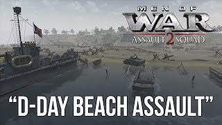 Men of War: Assault Squad 2 - D-Day Beach Assault