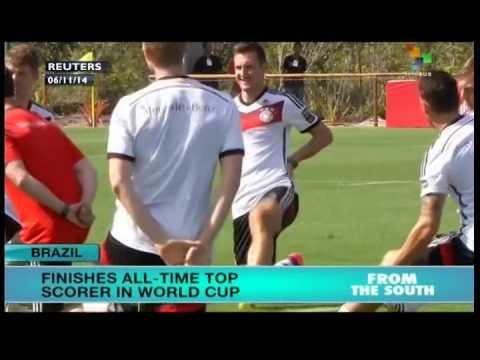 German soccer star Miroslav Klose retires