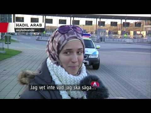 Gränskontroller infördes idag - Nyheterna (TV4)