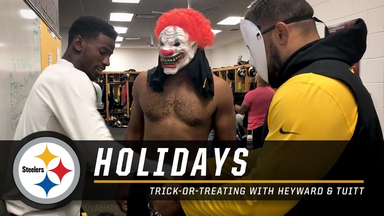 Trick or Treat Cameron Heyward and Stephon Tuitt