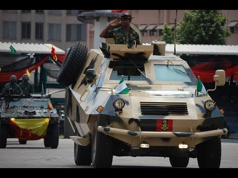 Rare Weapons Of Nigeria - African Military's