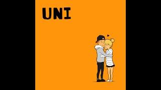Gambar cover UNI - G'nie X Hriatrengi ( Official Lyric Video )
