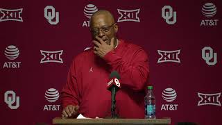 OU Football - Ruffin McNeill post-game press conference