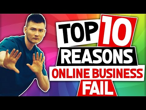 😈 HOW TO MAKE A SUCCESSFUL ONLINE BUSINESS (10 REASONS MOST PEOPLE FAIL) 😎