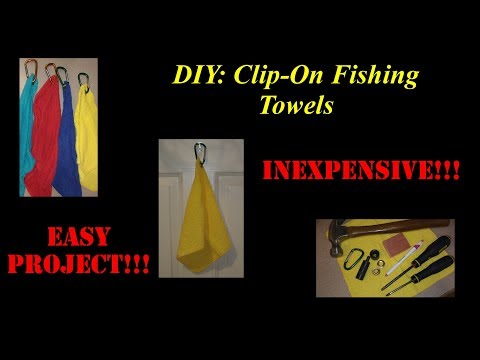 Easy Fishing Towel (DIY Fishing Hand Towel)