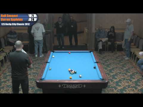 Ralf Souquet vs Darren Appleton in the 14.1 Challenge at the Derby City Classic