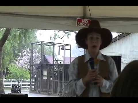 Down In The Rancho - Buenos Dias - performed by Taylor Shubert