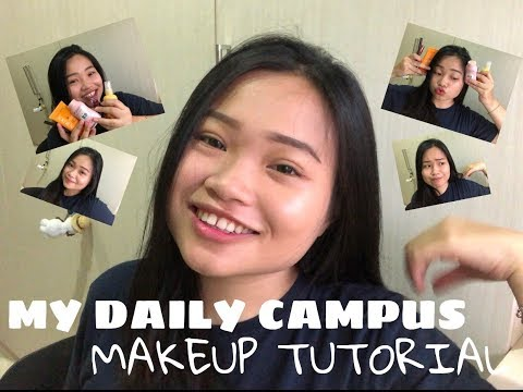 MY DAILY CAMPUS MAKEUP TUTORIAL by EVELYN LAURA