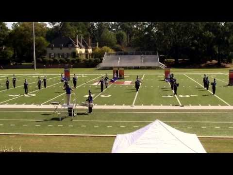 Kingwood Christian School Marching Band at Huntingdon Marching Invitational 2013