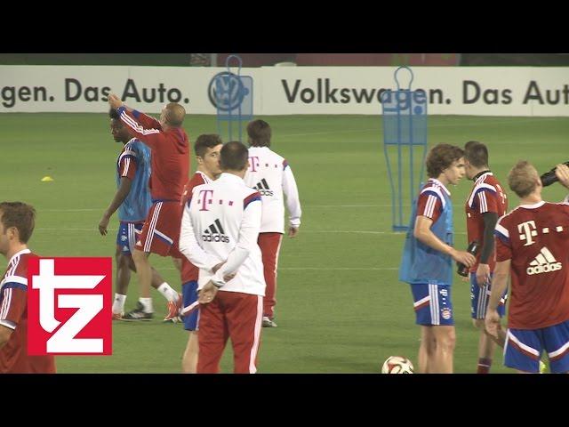 Video Pep Schwärmt Von Alaba Und Zerstört Seine Frisur Fc Bayern