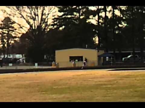 Princeton High School NC 1st 4x200 race of 2012