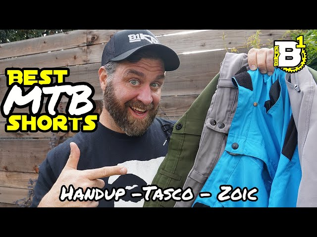 Best MTB Shorts - Zoic vs. Tasco vs. Handup + Shredly Shorts Review