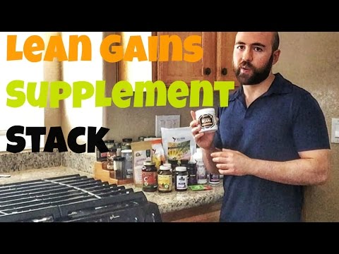 Lean Gains Supplement Stack for Summer 2016