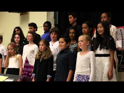 Choir Performance by 5th Grade Roosevelt Elementary Students on 5/7/14