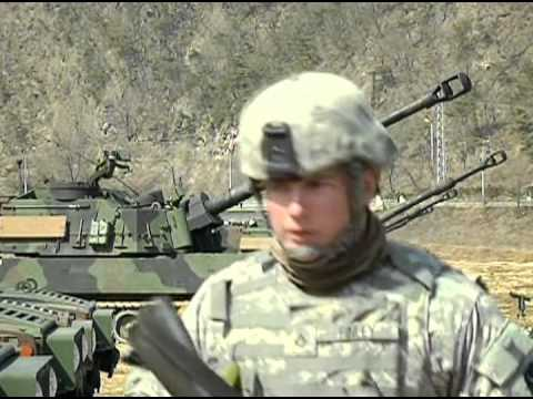 M109 155mm Howitzer in Korea with Utah National Guard soldiers