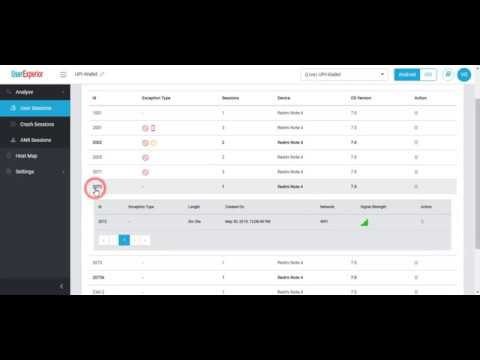 Mobile App Session Replay & Heatmap Analytics - UserExperior Product Walk Through